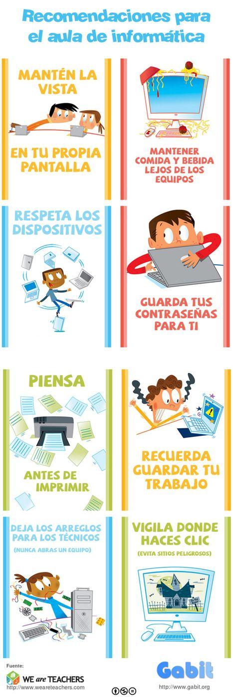 Recomendaciones para el aula de informática | Contar con TIC | Scoop.it