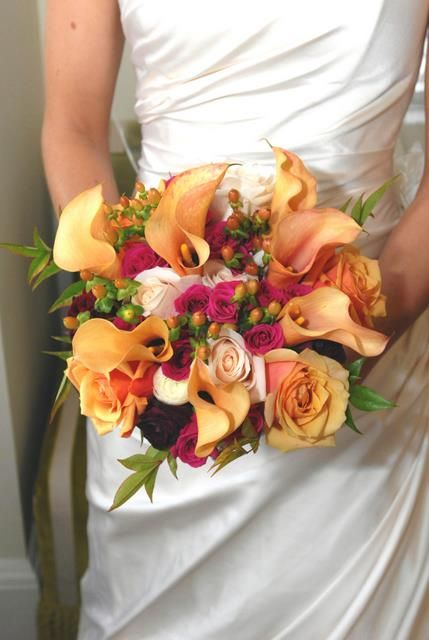 Autum bouquet by Morningglory