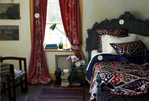 bed room from Anthropologie.