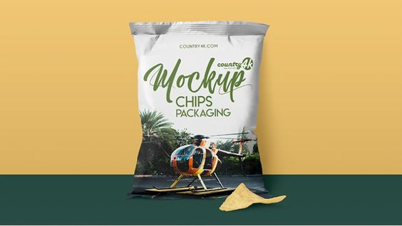Download Useful Photorealistic Chips Packaging Psd Mockup Chip Packaging Free Mockup Packaging Mockup
