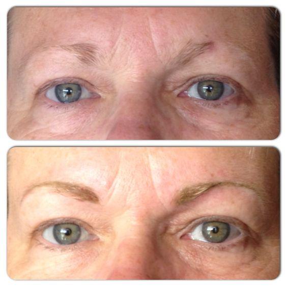 Permanent Eyebrow Makeup by www.AshleyBrownPermanentCosmetics.com