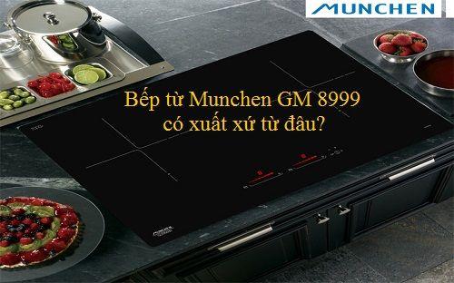 Bếp từ Munchen GM 8999 có xuất xứ từ đâu?
