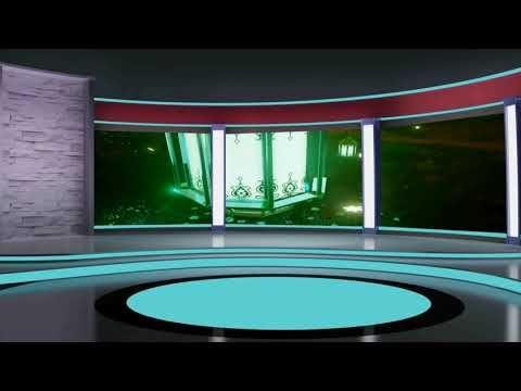 Virtual Studio Green Screen Video Tv Studio Background Animation 456 Virtual Studio Studio Background Greenscreen
