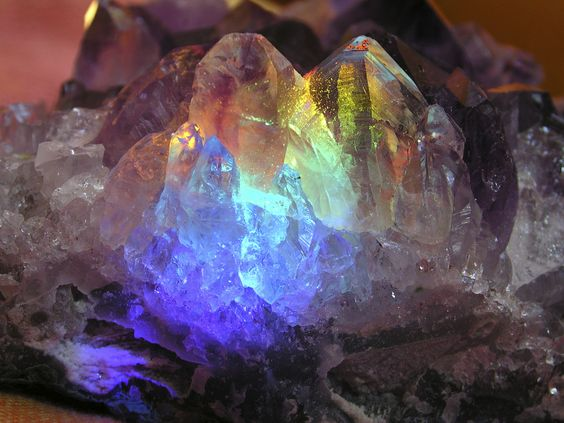 Magical magical crystals.