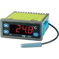 Conrad FOX temperature controller 230 V / AC relay outputs 2 A 250 V/AC/2 dimensions 71 x 29 mm installation depth 70.5 mm Sensorty