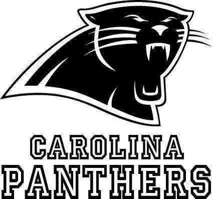 Carolina Panthers Football Logo Amp Name Custom Vinyl By