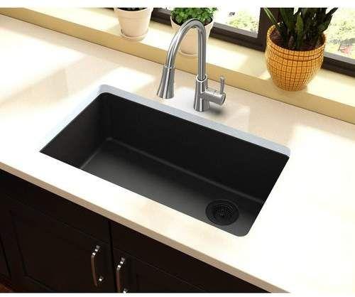 Quartz Classic 33 L X 19 W Undermount Kitchen Sink With Images