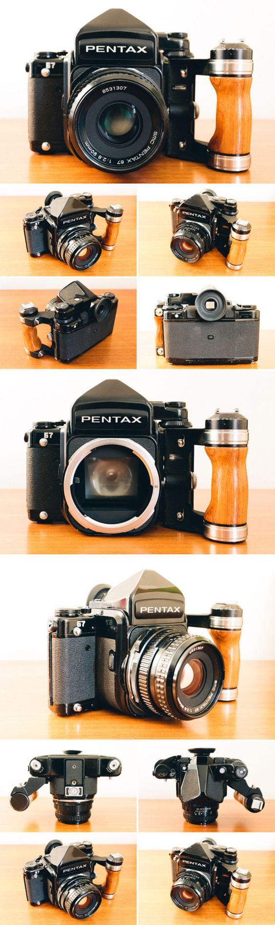 This is my film camera of choice right now.  SLR-Like operation with insane image quality.  Makes a Hasselblad seem like a point and shoot.