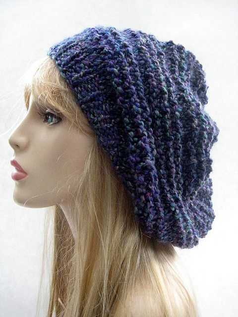 Wager Hat pattern with Lion Brand Homespun yarn brenda ...