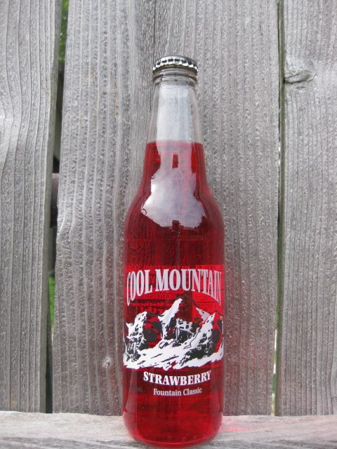 Cool Mountain Strawberry from Homer Soda