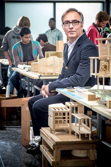 Wiel Arets, IIT's new architecture dean