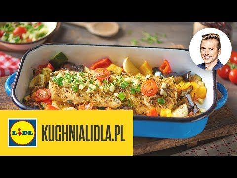 Dorsz Z Ratatouille Karol Okrasa Kuchnia Lidla Youtube Cooking Food Recipes