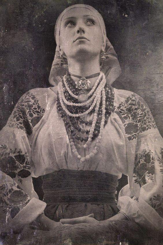 An Old Ukrainian Woman Is 40