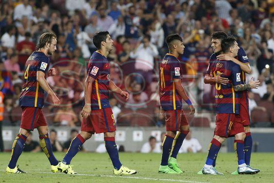 Trofeo Joan Gamper FCBarcelona 3- AC Roma 0