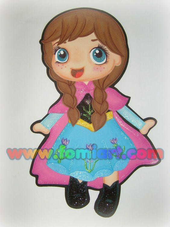 Princess Anna Frozen Chibi
