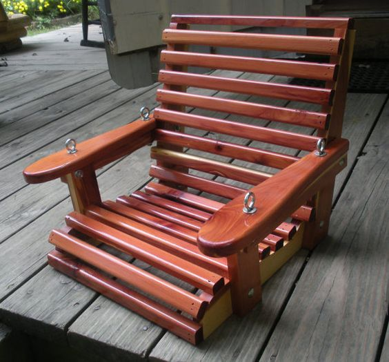 Child's Porch Swing by MillersCedarWorks on Etsy, $45.00