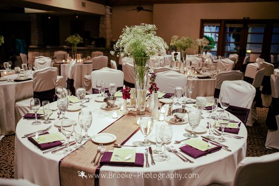 Kate & Company Weddings, Chandler, AZ   Ceremony & Reception Site: Ocotillo Golf Resort   Photography: Brooke Photography   Reception Setting