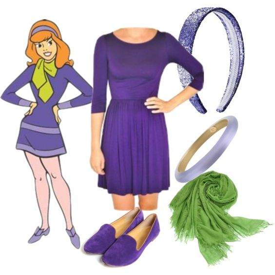"""Scooby-Doo: Daphne Blake"" by tallandcurvy on Polyvore:"