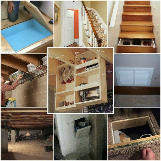 15 Under Home Hidden Storage Ideas You 39 D Be Surprised At The Extra Storage Space Available