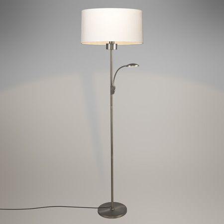 Mix 'n Match Stehleuchte Trento Combi Stahl Schirm 50/50/20 #Lampe #Innenbeleuchtung #Stehlampe #Dekolampe