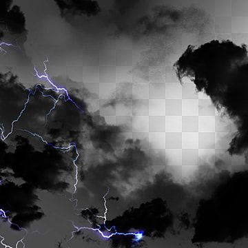 Cloudy Hand Painted Purple Lightning Realistic Clouds Thick And Heavy Glow Purple Png Transparent Clipart Image And Psd File For Free Download Nube Oscura Nubes Png Nubes