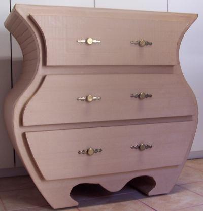Meuble en carton cr ation meuble en carton de maison for Meuble paiement en plusieurs fois
