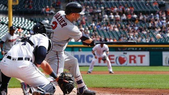 MLB Gamecast - Twins vs Tigers.   Twins 5 - Tigers 1