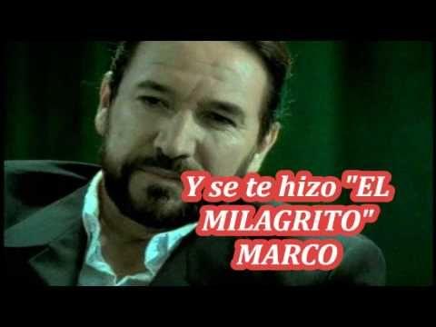 El Milagrito Marco Antonio Solis Letra Youtube In 2021 Youtube Antonio Solis Marco Antonio Solis