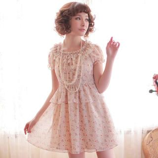 Buy 'Little Paw – Floral Ruffle Chiffon Dress ' at YesStyle.com plus more China items and get Free International Shipping on qualifying orders.