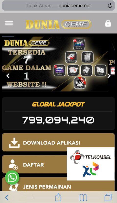 Duniaceme Daftar Link Situs Poker Online Deposit Via Pulsa Aplikasi Jenis Poker