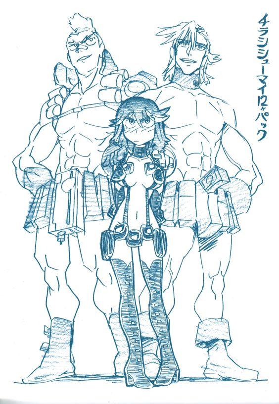 by hiroyuki imaishi