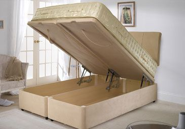 now this would be awesome!  Store and hid under the mattress to a whole new meaning!
