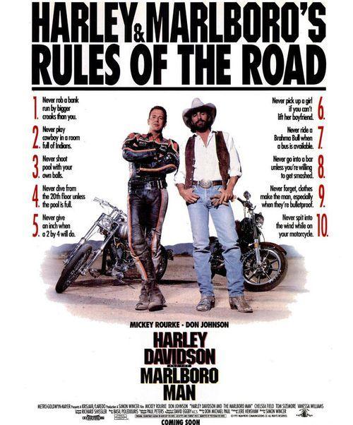 Harley Davidson And The Marlboro Man Harleydavidsonchoppers With Images Marlboro Man Harley Davidson Biker Quotes