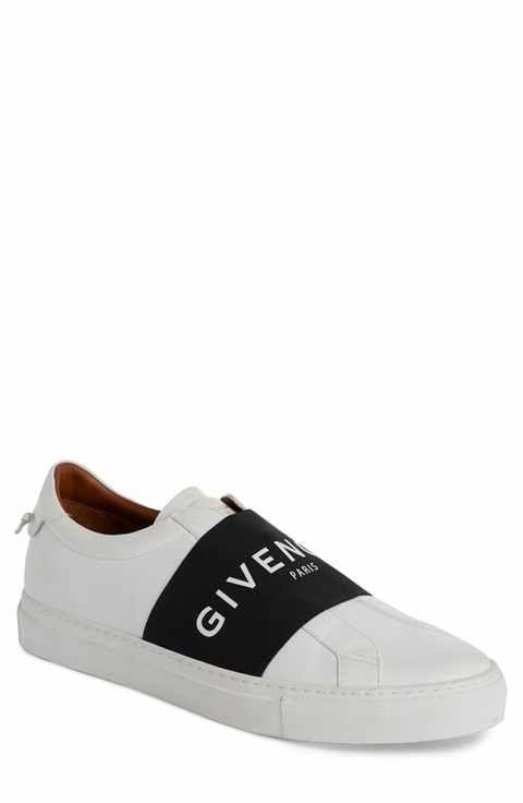 Givenchy Logo Strap Slip-On Sneaker