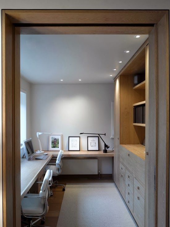 Home offices | Recessed lighting trim, Increase productivity and ...