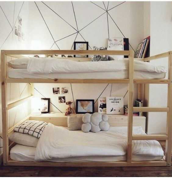 ikea hacks and kinderbetten on pinterest. Black Bedroom Furniture Sets. Home Design Ideas