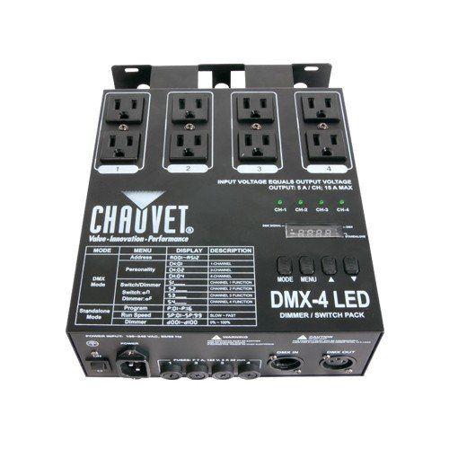 Buy it now Chauvet DMX4 LED Lighting