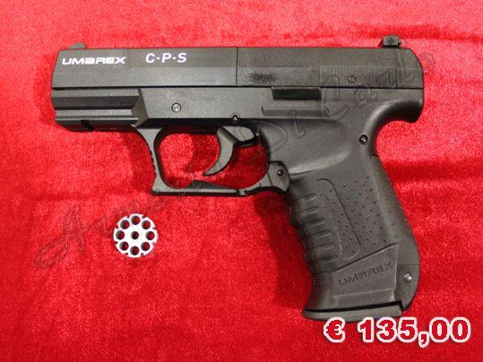 NUOVO A-0086 http://www.armiusate.it/armi-ad-aria-compressa-softair/pistole-co2-gas/nuovo-a-0086-umarex-cps-calibro-45_i179213