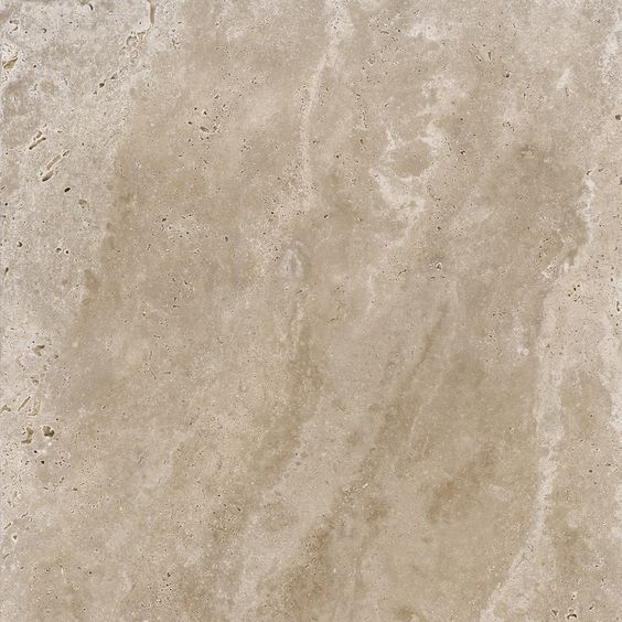 Style Selections Noce Travertine Porcelain Patio Stone (Common: 24-in x 24-in; Actual: 23.61-in x 23.61-in)