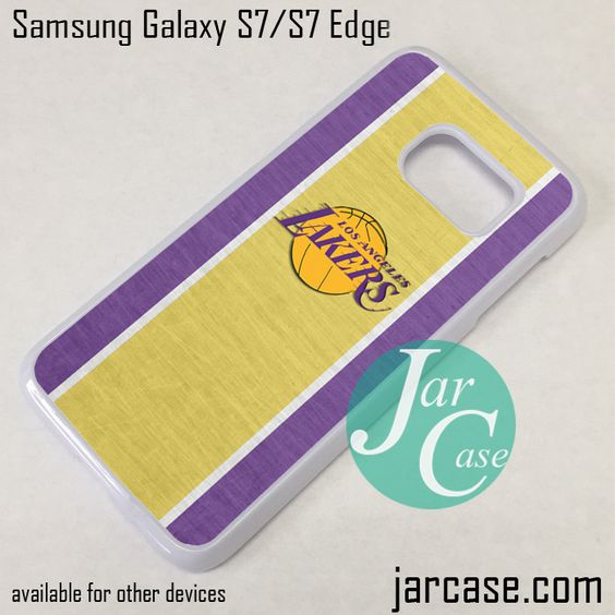 Lakers Phone Case for Samsung Galaxy S7 & S7 Edge