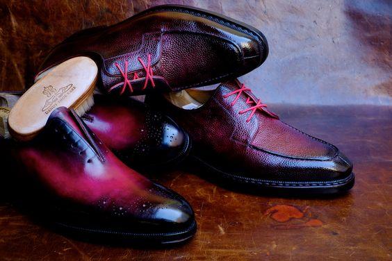 Александър Nurulaeff в ексклузивно Maftei Bespoke Обувки .:
