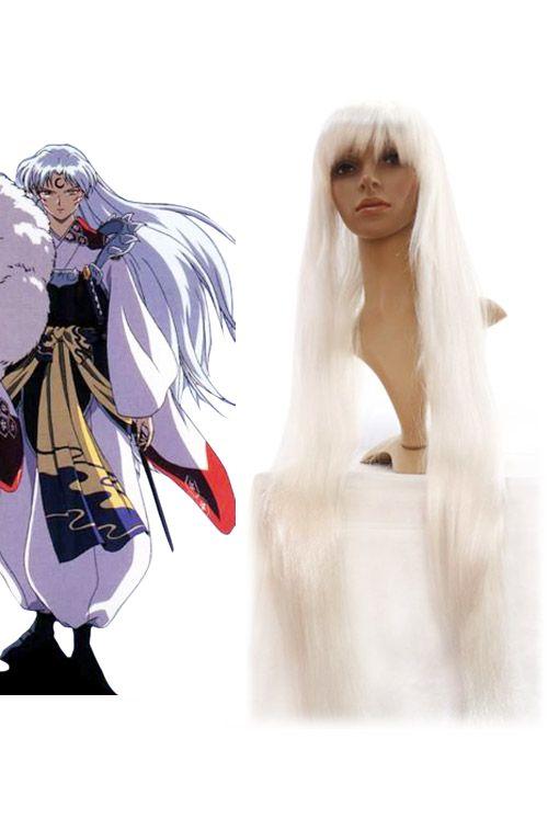 1m Inuyasha Sesshoumaru Cosplay Wig