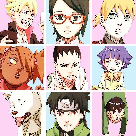 Naruto Fanart Rookie 9 Pics: Kid, The O'jays And The Kid