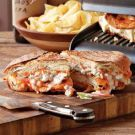 Try the Buffalo Chicken Panini with Blue Cheese-Celery Slaw Recipe on Williams-Sonoma.com