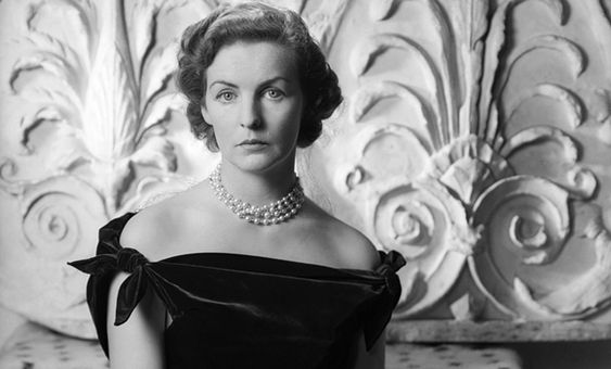 Deborah, Duchess of Devonshire, photographed by Cecil Beaton in 1950