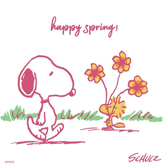 "PEANUTS on Twitter: ""Happy first day of Spring! 🌼… """