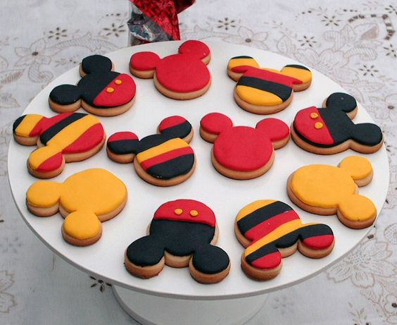 de mickey decoracion de galletitas decoracion de mickey mouse galletas: