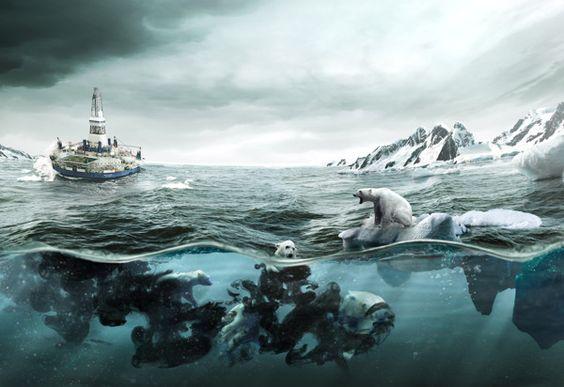 Hidden Consequences / Greenpeace by Martín De Pasquale, via Behance