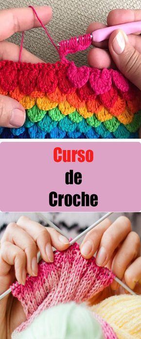 Como Aprender A Tejer Crochet Para Principiantes Curso Online De Crochet Aprende A Tejer Y Hacer Bordados Crochet
