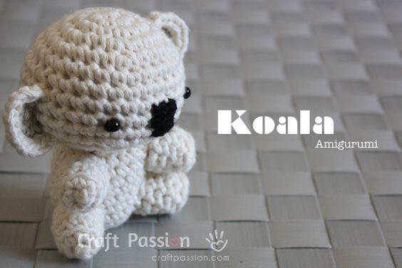Crochet Pattern Koala Bear : Koala Amigurumi - Free Pattern & Tutorial Englisch ...